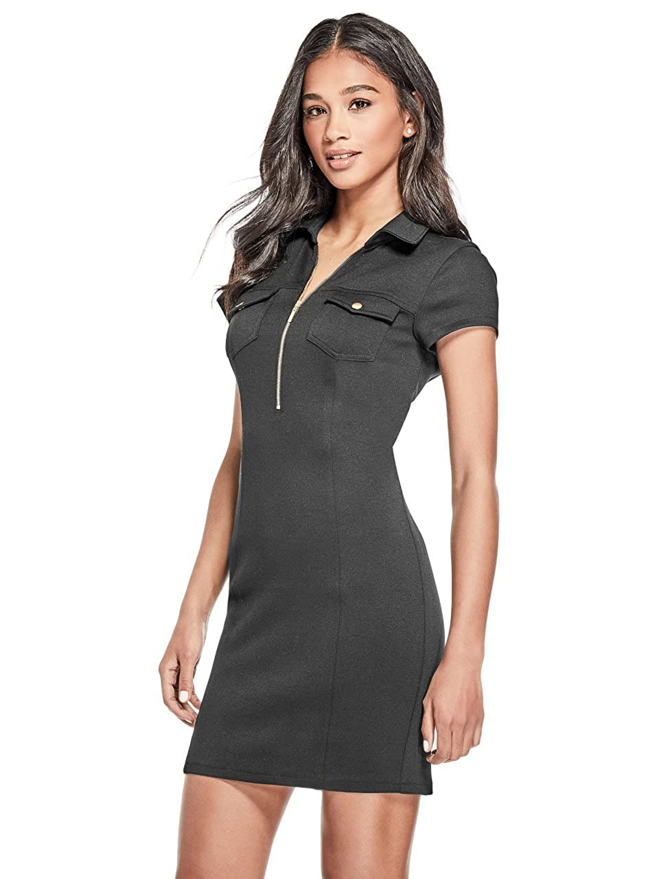 G By Guess Nini Zip Bodycon Dress GByGUESS R83K04R3620