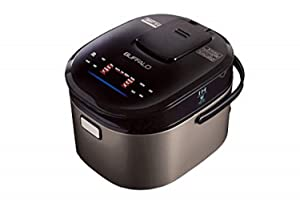 Buffalo|Titanium Grey|IH SMART COOKER|1.8L|10 cups of rice|Non-Coating inner pot|Efficient|Multiple function|Induction Heating (10 cups)