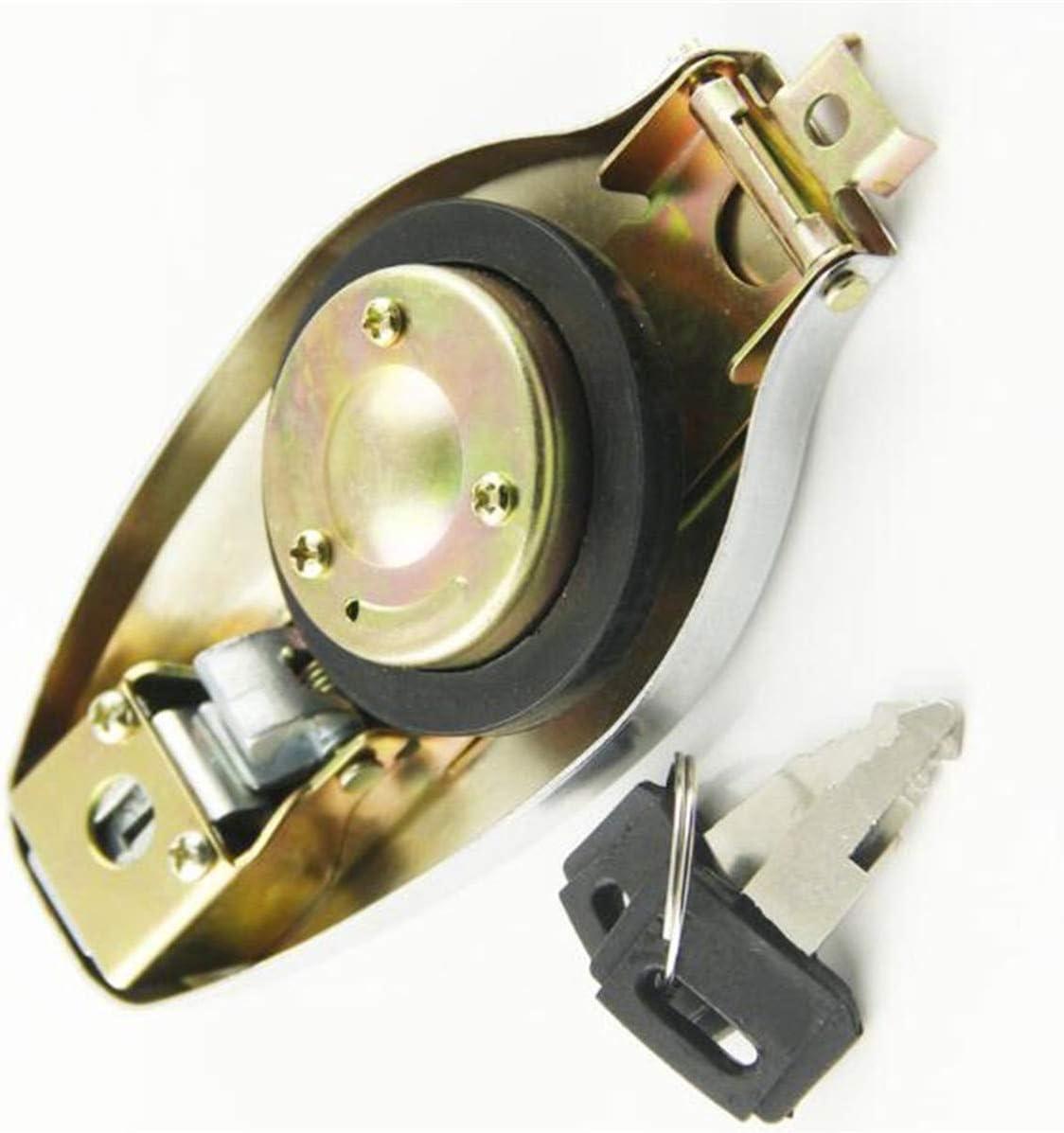 Petrol Fuel Gas Tank Cap Lock /& Key For Yamaha XS250 XS360 XS400 XS500 XS650//850