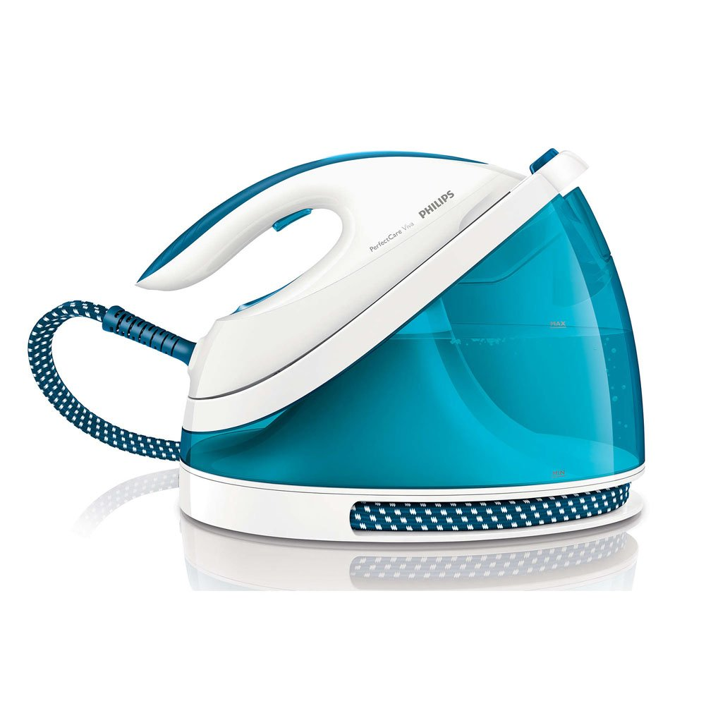 PerfectCare Viva GC7035 Steam Generator Iron 5 Bar Pump Pressure Faster and easier ironing with Exclusive Simple English User's Manual & Free Gift Tape Measure