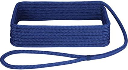 Royal Blue Extreme Max 3006.2111 BoatTector Double Braid Nylon Dock Line 1//2 x 15