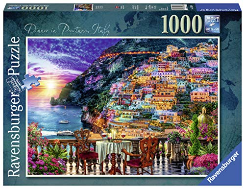 Ravensburger Dinner in Positano 15263 1000 Piece Puzzle for Adults, Every Piece is Unique, Softclick Technology Means Pieces Fit Together Perfectly