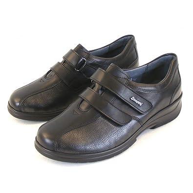 Stuppy , chaussons d'intérieur femme - Noir - Noir, 4
