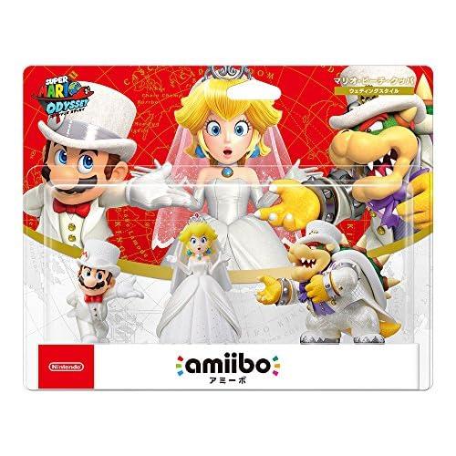 amiibo Triple Wedding Set [Mario / Peach / Kupa] (Super Mario Series) Japan Ver.