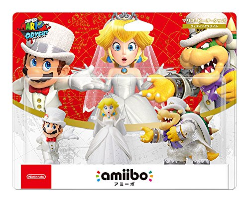 amiibo Triple Wedding Set [Mario / Peach / Kupa] (Super Mario Series) Japan Ver. -