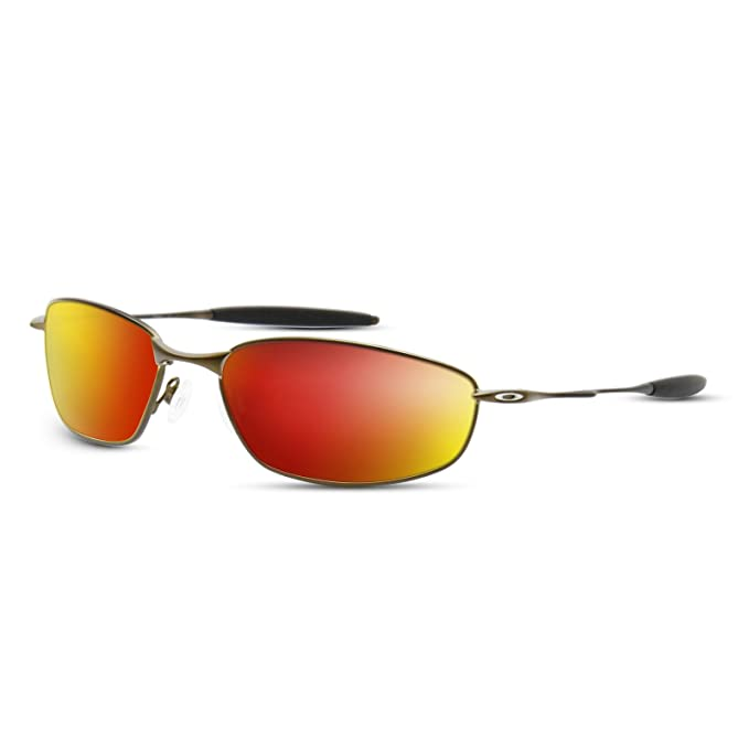 a6a98cf166 Amazon.com  Metallic Fire Red Replacement Lenses for Oakley Whisker ...
