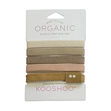 Amazon.com   BIODEGRADABLE HAIR TIES in BLOND  b9d25cf41f0