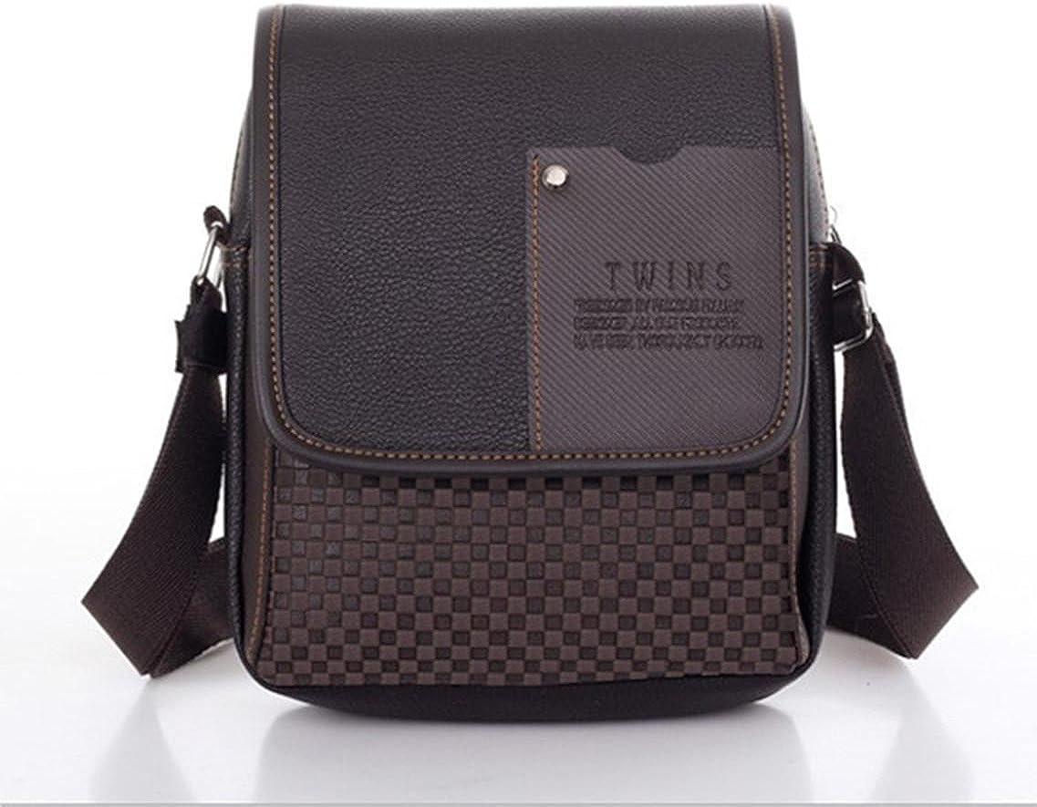 Esqlotres Fashion Mens Synthetic Leather Bag Handbag Shoulder Bag Messenger Briefc Messenger Bags