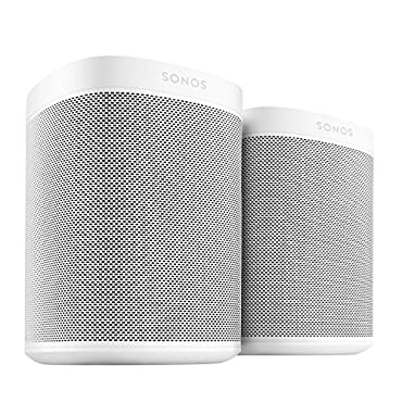 Sonos One 2-Room Bundle with Amazon Alexa Built In (White, Pair)