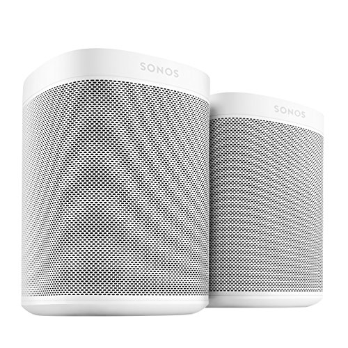 All-new Sonos One – 2-Room Voice Controlled Smart Speaker with Amazon Alexa Built In (White) by Sonos