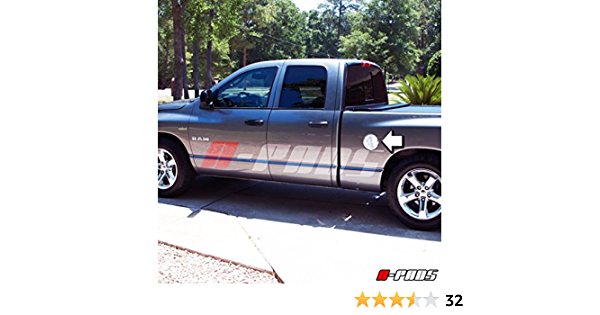 For 2002-2008 Dodge Ram Most Truck Models self-adhesive Gas Door Cover
