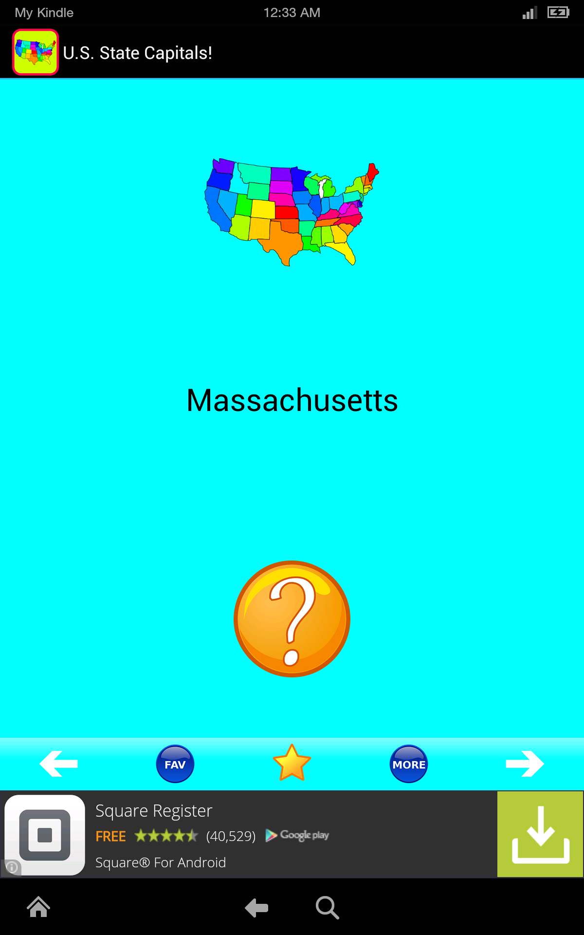 I like to learn capitals quiz south america