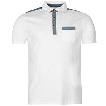Pierre Cardin Jersey Tela Vaquera polo camiseta para hombre ...