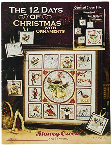 Stoney Creek The 12 Days of Christmas with Ornaments Book 12 Days Partridge Ornament