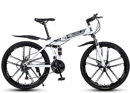 QZ Plegable de Velocidad Variable de 26 Pulgadas Bicicleta de ...