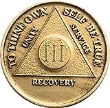 3 Year Bronze AA %28Alcoholics Anonymous