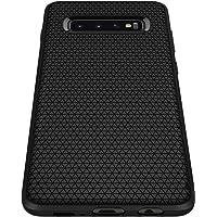Spigen Funda Galaxy S10 Plus, Liquid Air Designed for Samsung Galaxy S10 Plus Case (2019) - Matte Black