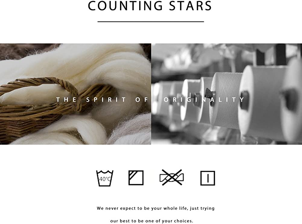 Counting Stars Boxer Shorts Mens Boxers Cotton Mens Underwear Multi Pack for Men Trunks with Open Fly S M L XL XXL