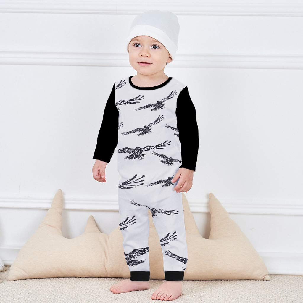 321860542e4c Amazon.com  NUWFOR Newborn Infant Baby Boy Girl Cartoon Animal Romper  Jumpsuit Outfits Clothes White  Clothing