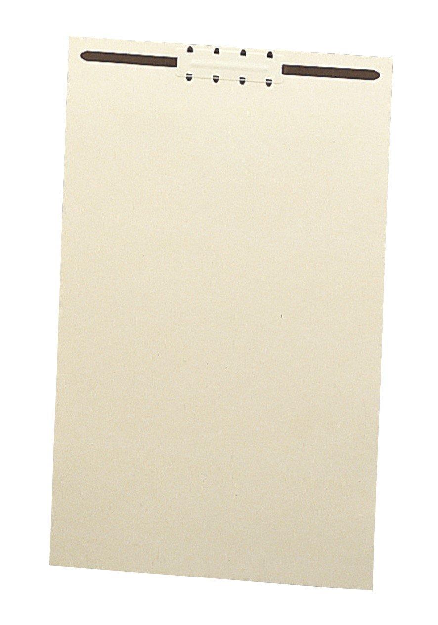 Smead File Back, Legal, 2-Inch K Style #1 Fastener, Manila, 100 per Box (35521)