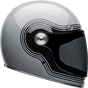 Bell Bullitt Full-Face Motorcycle Helmet Solid Gloss White, Small