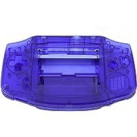 Demeras Hölje skal pack handhållen spelkonsol bostadsfodral ersättning mjuk beröring (blå)