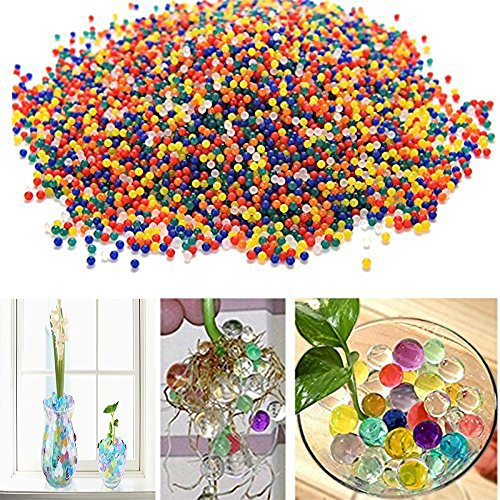 Et 18000 Magic - Shindel Water Beads, Gel Beads Water Gel Beads Home Growing Gel Balls Wedding Centerpiece Home Decoration, Plants 250g ,18000 Beads