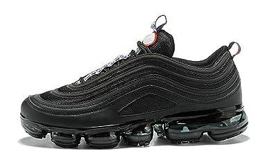 8196ab96e4fc6 FREESALE Air Vapormax 97 Ultra 17 Triple Black Chaussures de Running Homme  Femme