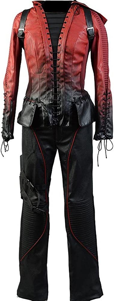 Kalshop Arrow Season 4 Cosplay Speedy Thea Queen Disfraz Red ...