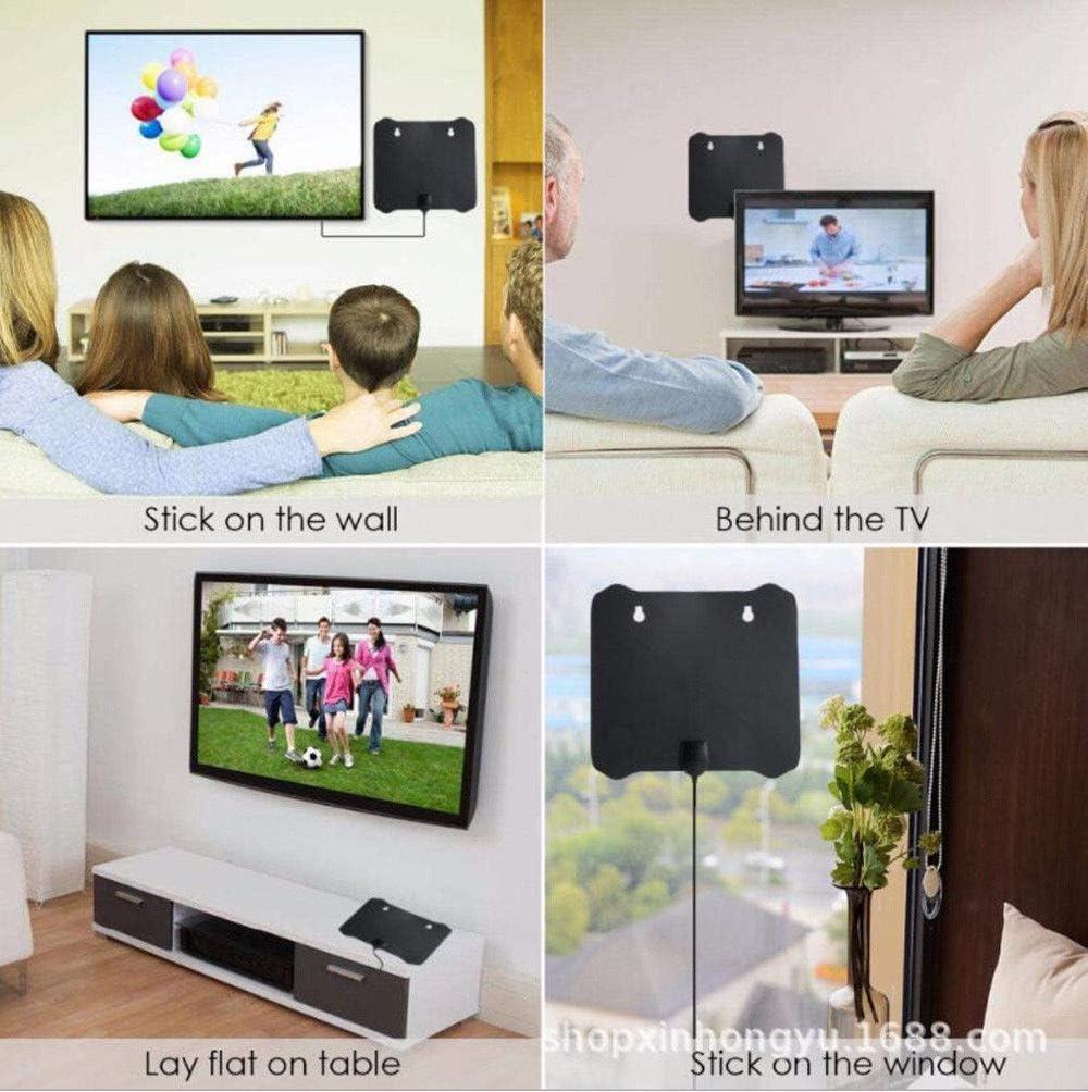 Ocamo 300 Mile Range Antenna TV Digital HD Skywire 4K Antena HDTV 1080p with Amplifier