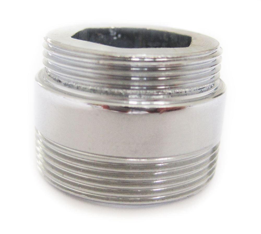 Adaptateur m/étallique solide pour la cuisine d/économie deau robinet robinet a/érateur 22mm /à 24mm
