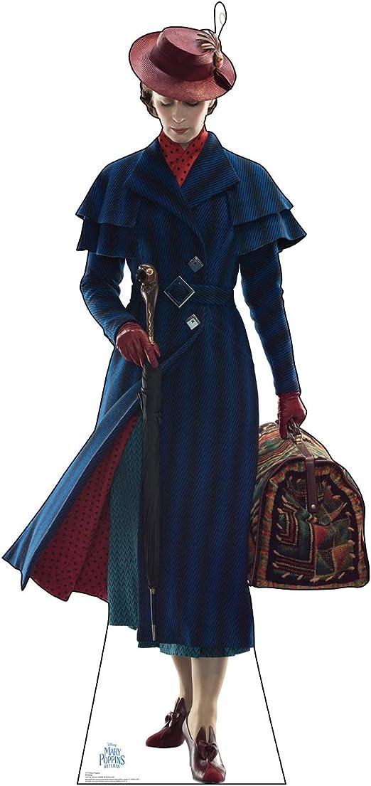 COAT ~ BARBIE DOLL MARY POPPINS RETURNS BLUE BLACK STRIPE FULL LENGTH JACKET TOP