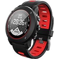 OOLIFENG Orologio Intelligente GPS Altimetro Barometro Bussola Cardiofrequenzimetro IP68 Impermeabile Digitale Sport Orologio per Sport all'aperto