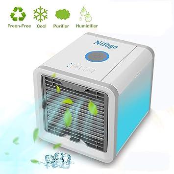 Bürotechnik Klimagerät Klimaanlage Mobil Luftkühler Befeuchter Air Purifier Usb Netzstecker Büro & Schreibwaren