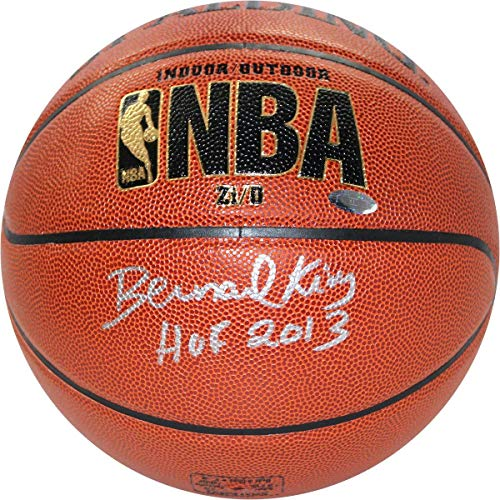 Basketball Bernard Autographed King - Bernard King New York Knicks Signed Indoor/Outdoor Inscribed