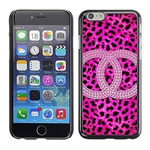 PC/Aluminum Funda Carcasa protectora para Apple Iphone 6 Plus 5.5 Leopard Pattern Brand Fashion / JUSTGO PHONE PROTECTOR