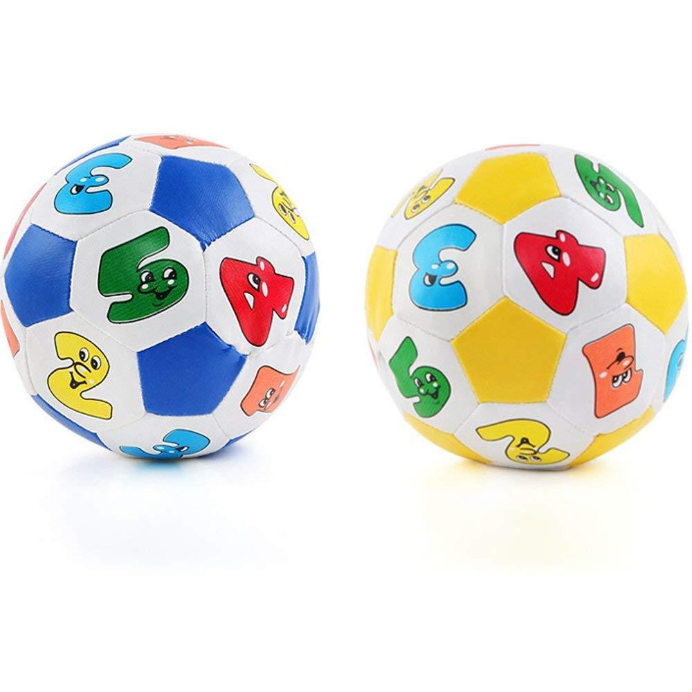 Ogquaton Número de bebé Bola de Goma Espuma Suave Llena de Tela ...