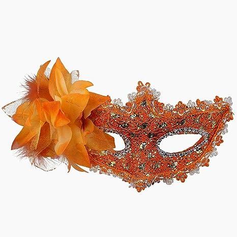 Máscara de Venecia atractivo del cordón de las mujeres Snner con ...