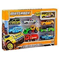 Paquete de regalo de Matchbox 9-Car (los estilos pueden variar)