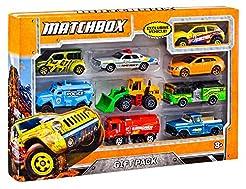 Matchbox 9-Car Gift Pack (Styles May Var...