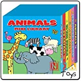 Animals Mini Library pack of 6 Board Books