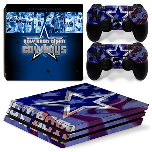 - GoldenDeal PS4 Pro Console and DualShock 4 Controller Skin Set - Football NFL - PlayStation 4 Pro Vinyl