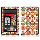 Kindle Fire Skin Kit/Decal - Owls Family - Valentina Ramos (does not fit Kindle Fire HD)