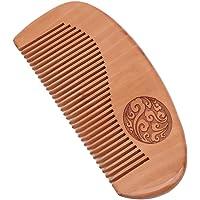 Timetries Hair Comb - Wood with Anti-Static & No Snag Handmade Brush for Beard, Head Hair, Mustache, Style 1