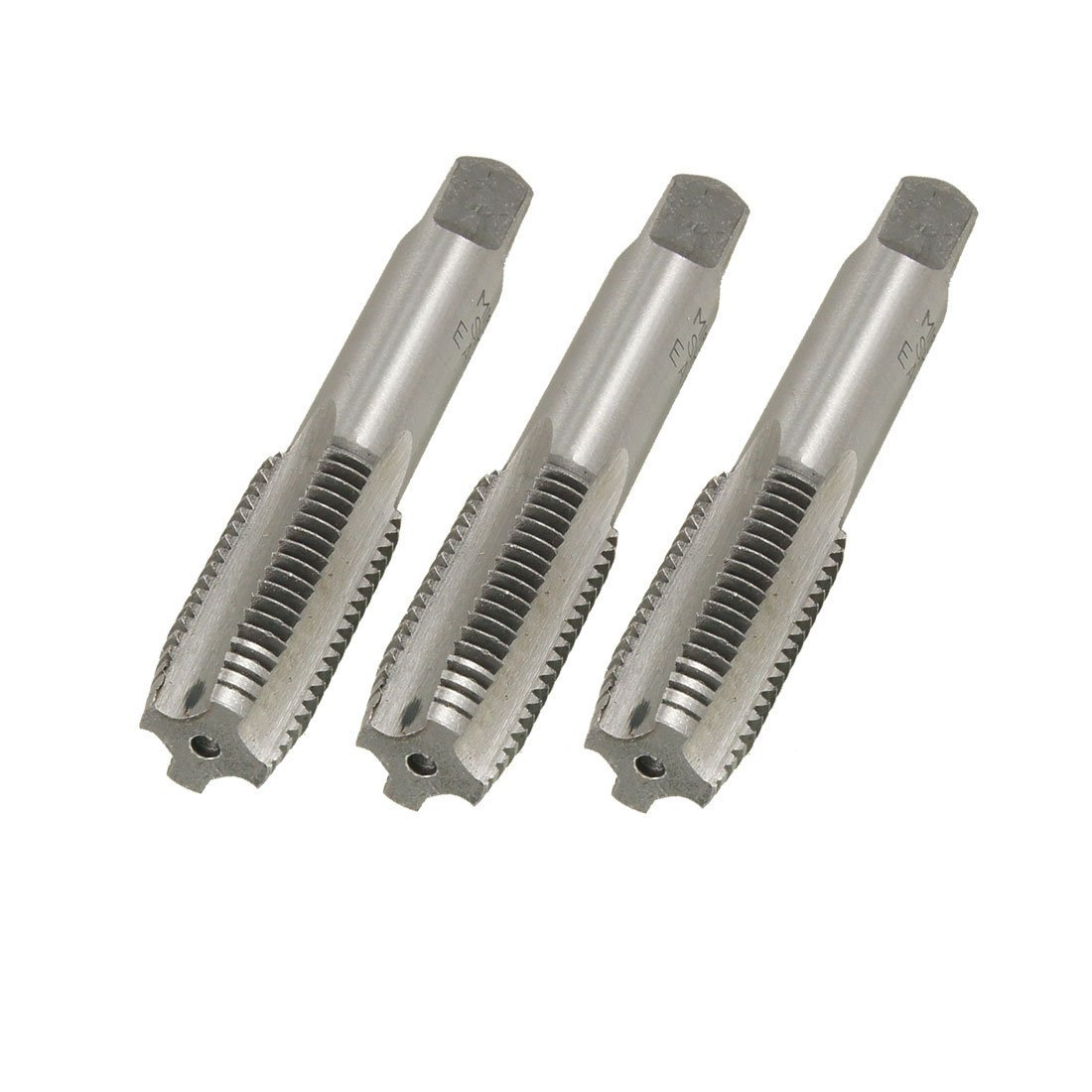 3 Pcs 16mm x 2.0mm Taper and Plug Metric Tap M16 x 2.0mm Pitch Sourcingmap a12091200ux0888