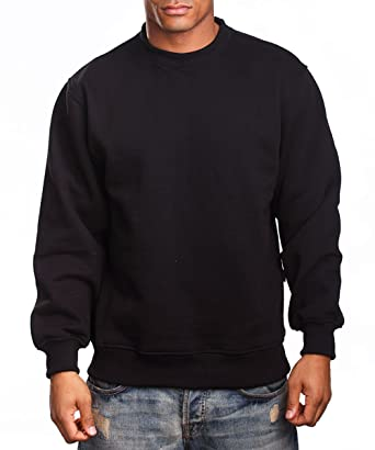 Mens Heavy Weight Fleece Crewneck Pullover at Amazon Men's ...