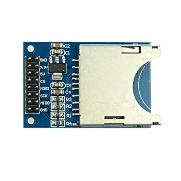 Ranura Lector módulo AMS1117 - 3.3 V módulo de tarjeta SD ...