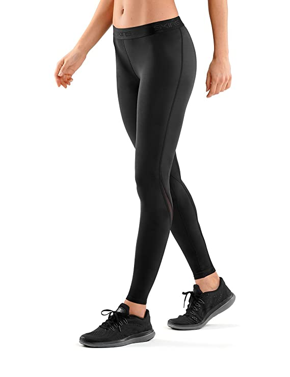 cef3a04a8b Amazon.com : SKINS Women's DNAmic Compression Long Tights : Clothing