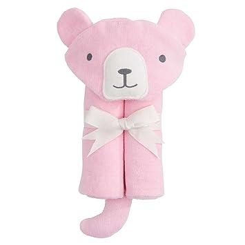 Amazon Com Elegant Baby Bath Wrap Bear Pink Baby