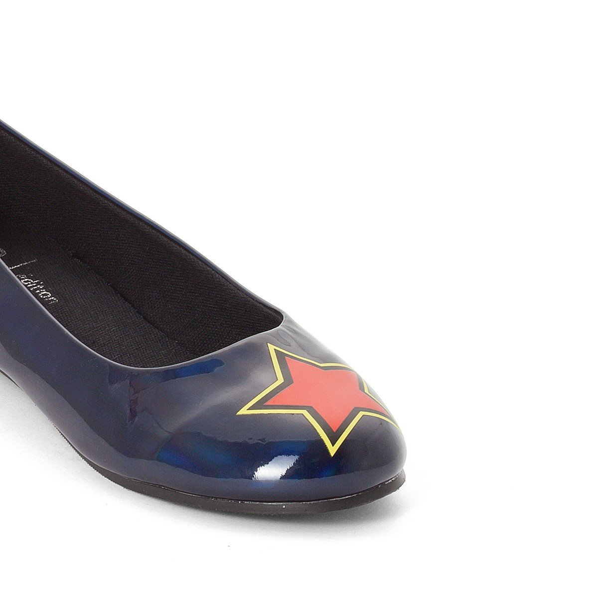 La Redoute Collections Big Girls Ballet Pumps with Star Patch